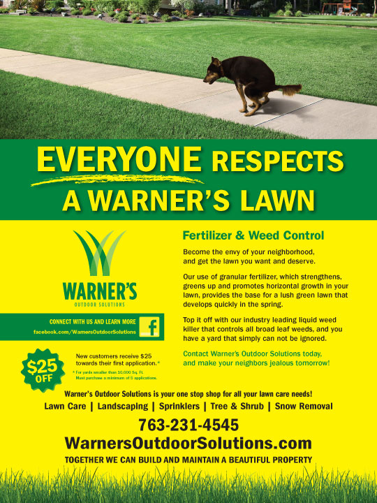 Warner's Outdoor Solutions Respect Ad